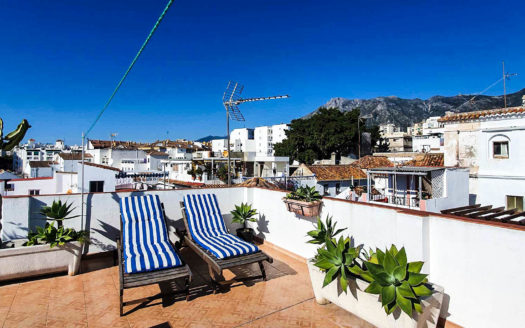 Town House in Marbella For Rent.